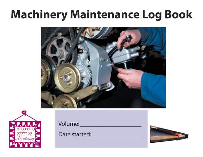 Machinery Maintenance Log Book